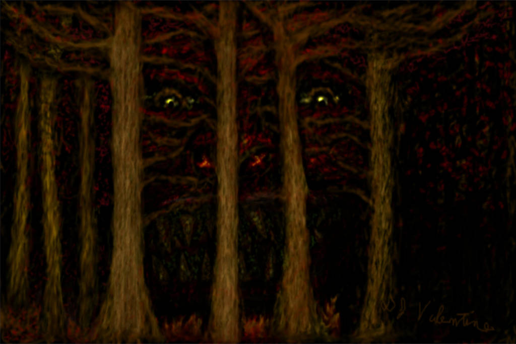 Devil In The Woods by Killerion