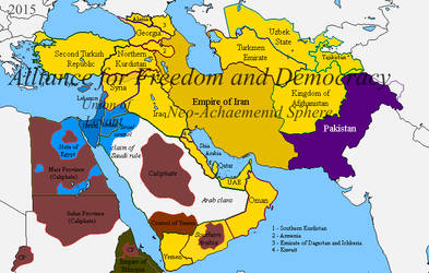 Greater Iran And Alternative Middle East By Vah Vah On Deviantart