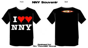 Dotor Who:NNY Souvenir t-shirt by Thowell3