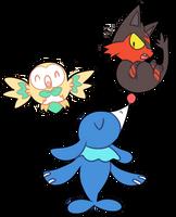 New trio by monomite