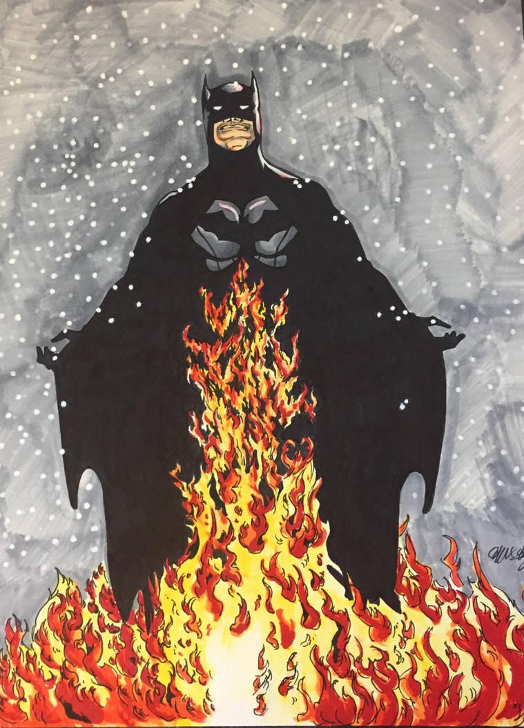 Christmas time batman by ansem-the-dead