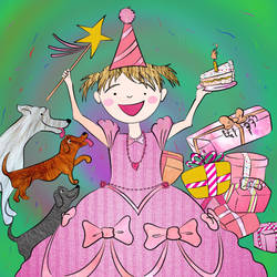 No.7 pinkalicious- birthday gift by ansem-the-dead