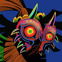 No. 10 Majoras Mask by ansem-the-dead