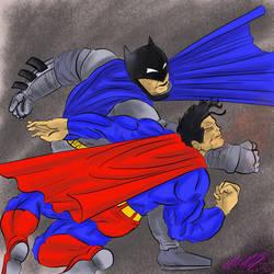 No.11 Batman vs Superman by ansem-the-dead