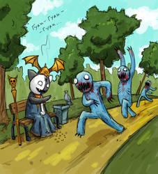 Ghouls by masacrar