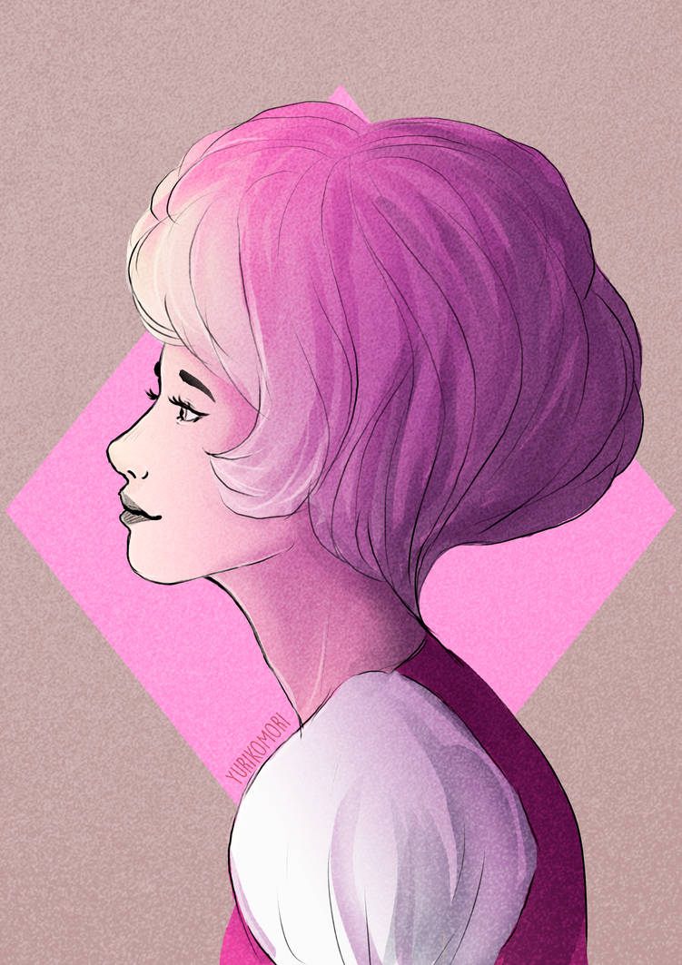 Here's one Pink sketch for tonight! I really miss her   Hope u like it!! Artist: ME (YurikoMori) Character: Pink Diamond (Steven Universe/Rebecca Sugar) DO NOT USE IT .......................