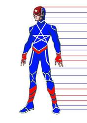 Pietro Maximoff as Captain America by UncannyX-Factor