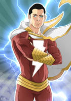 Captain Marvel by Mercalicious