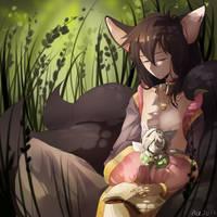 Shinzui and Lilinoe by Acemayjo