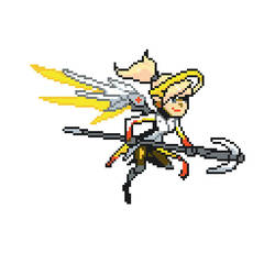 Mercy Pixel Spray by avatarcreator12