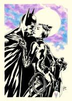 Bats and Cats by julianlopezart