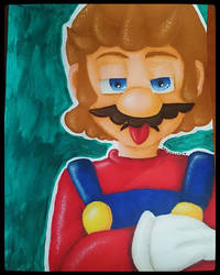 Supero Mario by AsuchiiMeowMeow