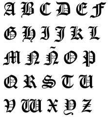DN Alphabet by bexika