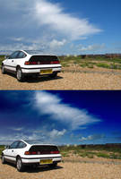 Easy Top Gear Style Moody Sky by dogtemple