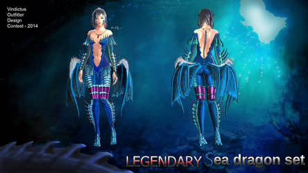 Sea Dragon Female Set (old picture) by SongjoArts