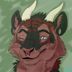 :.Cyriil Headshot Commission.: by xXJuMpInG0WoLfXx