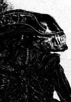 Alien Xenomorph by tomcrielly