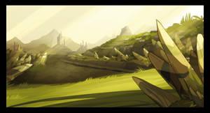 wafku' les plaines de Cania' by tchokun