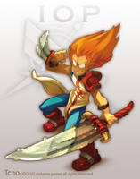 Dofus Character the  IOP by tchokun