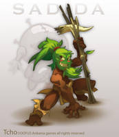 Dofus Character Sadida by tchokun