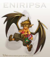 Dofus Character Male Eniripsa by tchokun