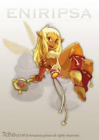 Dofus Character Eniripsa by tchokun