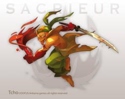 Dofus Character male sacrieur by tchokun