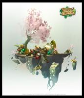 Dofus 2.0 'the Pandawa' by tchokun