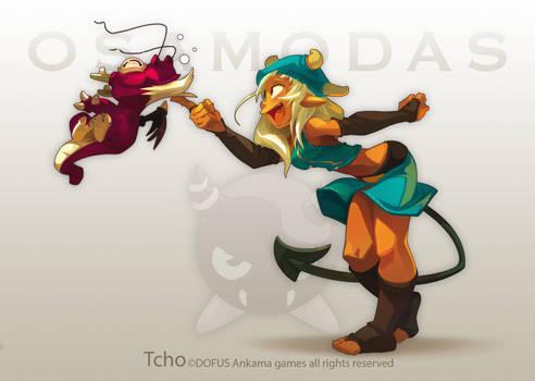 Dofus MMO Female OSAMODAS by tchokun