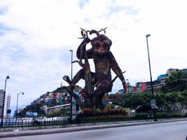 Monkey Monument by royam