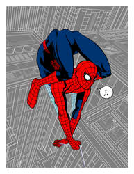 Bonus Pin-up: Spider-Man! by Bonzulac