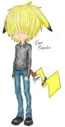 Emo Pikachu by AutumnReprise
