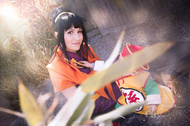 Chichi and Gohan Dragonball Z Cosplay by Caydance