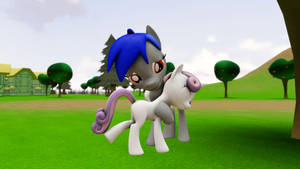 Sweetie Belle and ED+ #1 by EDplus