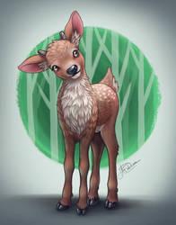 Deer by Hidden-Rainbows
