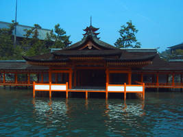 Itsukushima Shrine by japanstocks