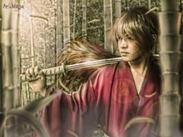 Rurouni Kenshin by ArtNinjaPH