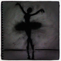 Charcoal Ballerina by michelleleithead