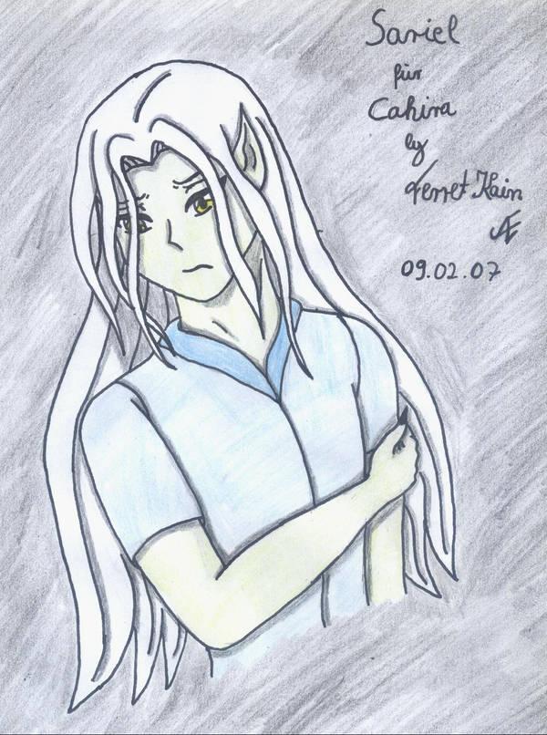 Sariel for Cahira by FerretKain