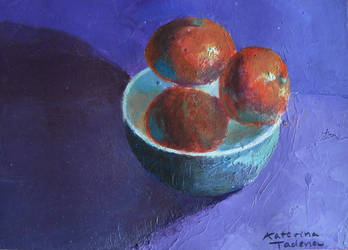 Fractured Fruit by KaterinARTadenev