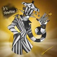 Villainous - Black Hat in Beetlejuice by MissDesign33