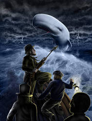 MobyDick by Adrean-BC