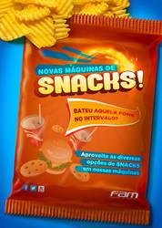 Cartaz Snacks by Adrean-BC