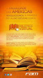 Painel Biblioteca Virtual by Adrean-BC