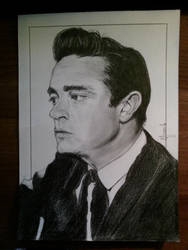 JOHNNY CASH by Ynnck