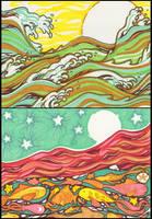 Moody Ocean 1 by golden-quince