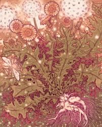 Dandelion by golden-quince