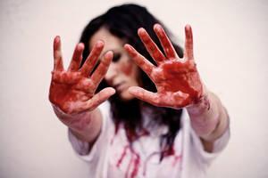 Bloody hands by stardixa
