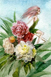 Peonies by tin-sulwen