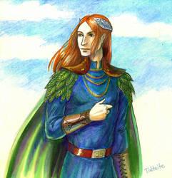 Redhead elf by tin-sulwen